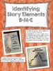 Interactive Notebook Story Elements Comprehension Strategy