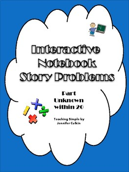 Interactive Notebook Story Problems