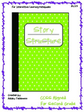 Interactive Notebook: Story Structure RL 2.5 Second Grade