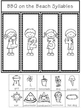Interactive Notebook {Syllables}