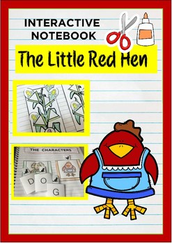 Interactive Notebook - THE LITTLE RED HEN