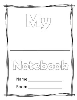 Interactive Notebook Table of Content and Title Page