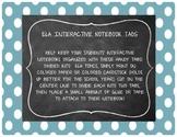 Interactive Notebook Tabs BUNDLE!!
