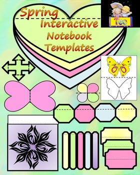 Spring - Interactive Notebook Template - Personal or Commercial Use
