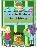 Interactive Notebook Template for Any Subject