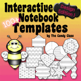 Editable Interactive Notebook Templates: 100+ Fun Clipart Designs