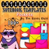 Interactive Notebook Templates 100+ Pockets