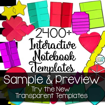 Interactive Notebook Templates 2400+ Sample of New Templates