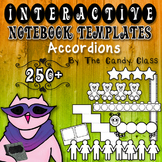 Interactive Notebook Templates 250+ Accordions