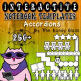 Interactive Notebook Templates 250+ Accordions