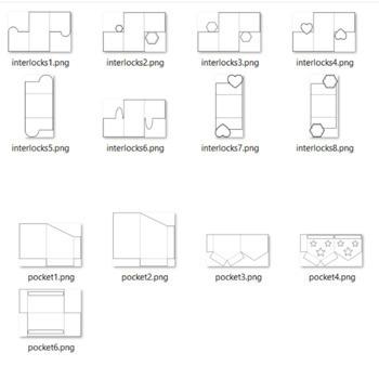 Interactive Notebook Templates 900+ (Classroom & Commercial) growing!HUGE Bundle