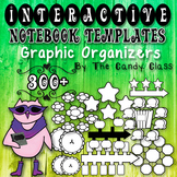 Interactive Notebook Templates 300+ Graphic Organizers (Pe