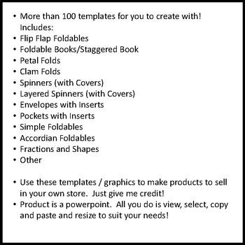 Interactive Notebook Templates