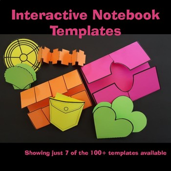 Interactive Notebook Templates