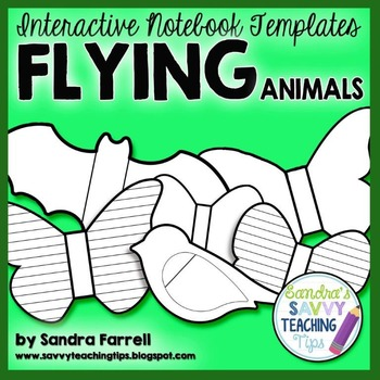 Interactive Notebook Templates - Animal Shapes
