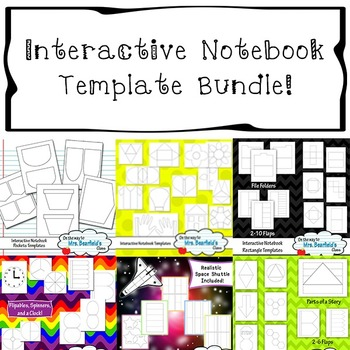 Interactive Notebook Templates Bundle