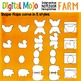 Interactive Notebook Templates Farm Themed - Commercial Use OK