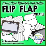 Interactive Notebook Templates - Flip Flap Booklets