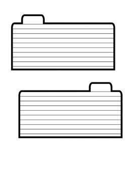 Interactive Notebook Templates - Flip Flap Booklets
