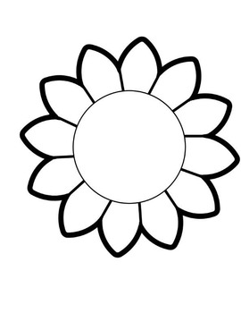 Interactive Notebook Templates - Flower and Star Shapes