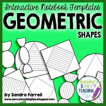 Interactive Notebook Templates - Geometric Shapes