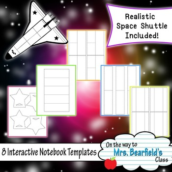 Interactive Notebook Templates {Space}