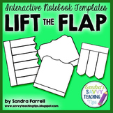 Interactive Notebook Templates - Lift the Flap Books