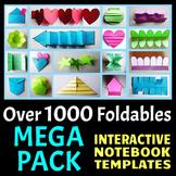 Interactive Notebook Templates (1000+ Editable Foldables -