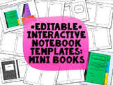 Interactive Notebook Templates: Mini Books {Commercial Use Allowed}