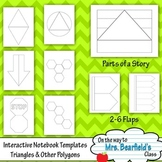 Interactive Notebook Templates {Triangles and Other Polygons}