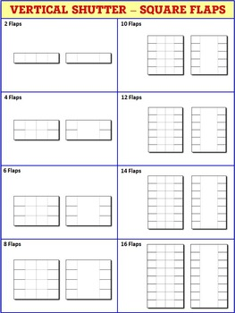 Interactive Notebook Templates - Easy to Cut Trifold Pack - 265 Templates
