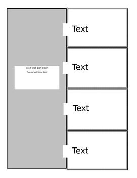 "Interactive Notebook Templates ""Word"""