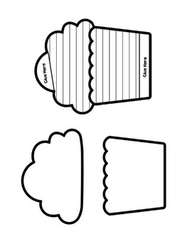 Interactive Notebook Templates - creative shapes