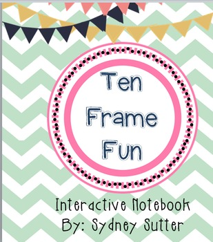 Interactive Notebook - Ten Frame Fun