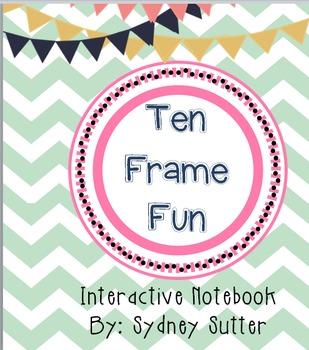 Interactive Notebook - Ten Frame Fun