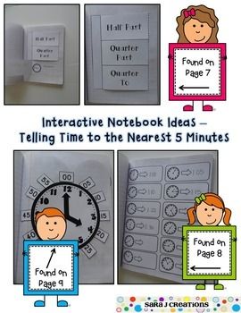 Interactive Notebook - Time and Money
