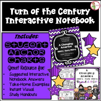 Interactive Notebook-Turn of Century-Cattle/Inventions/Imm