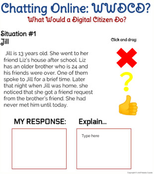 Internet Safety, Cyberbullying, Digital Citizenship Interactive Google UNIT!