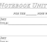 Interactive Notebook Unit Cover