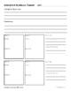 Interactive Notebook Unit Planner
