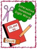 Interactive Notebook V, CV, VC Sight Words