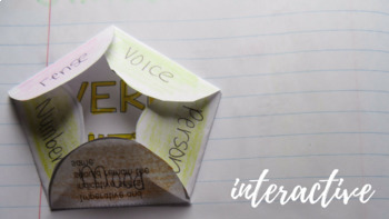 Interactive Notebook: Verb Shifts