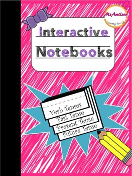 Interactive Notebook - Verb Tense