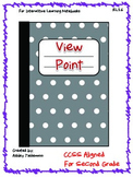 Interactive Notebook: View Point RL 2.6 Second Grade