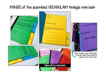 Interactive Notebook: Vocabulary Analysis Mini Book