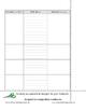Interactive Notebook Vocabulary Sheets FREEBIE