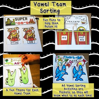 Vowel Team Interactive Notebook (Long Vowel Pairs)