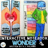 WONDER BY R.J. PALACIO INTERACTIVE READING NOTEBOOK
