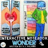 WONDER BY R.J. PALACIO INTERACTIVE READING NOTEBOOK