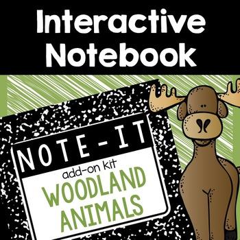 Interactive Notebook- Woodland Animals